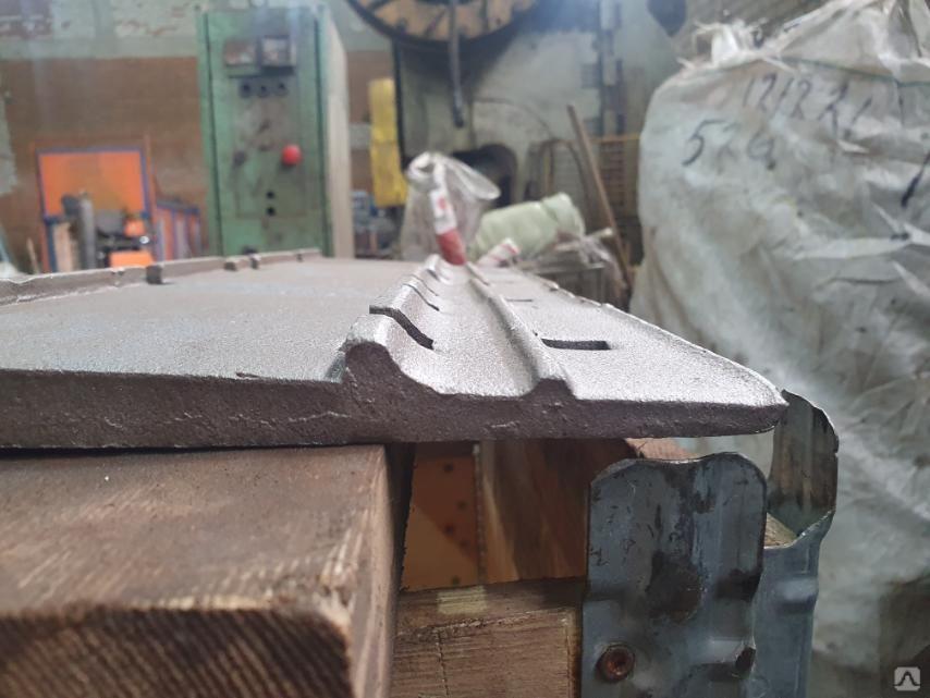 подкладка под рельсы Д-43 вид сбоку